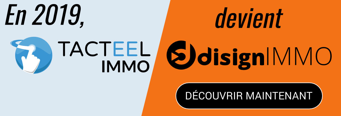 Image - Tacteel IMMO devient Disign IMMO